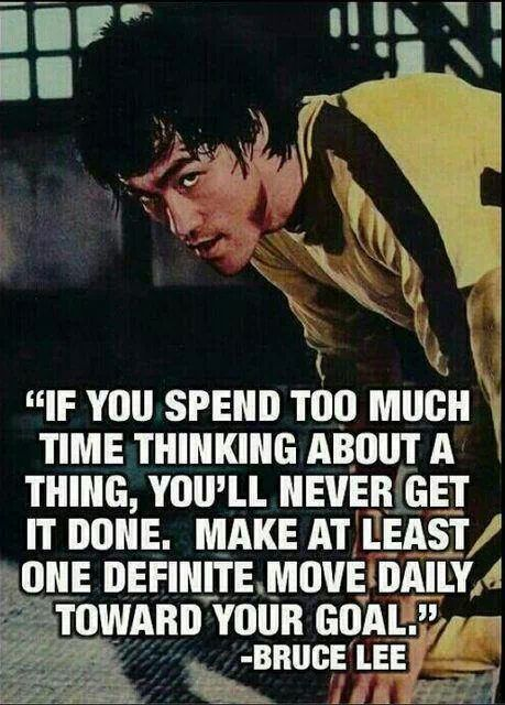 Quote of the day-Bruce lee