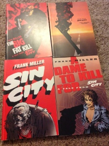 First 4 Sin City comics