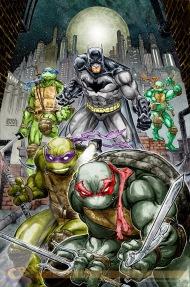 SDCC Exclusive Batman teams uo with theT.M.N.T
